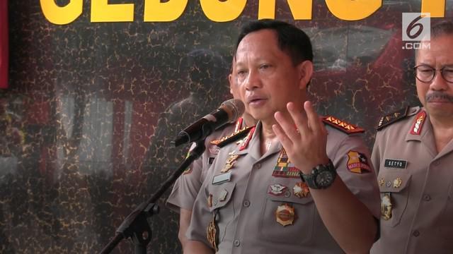 Kapolri Jenderal Tito Karnavian menyebutkan motif penembakan polisi di Cirebon diduga aksi balas dendam oleh salah satu anggota Jamaah Ansharut Daulah atau JAD.