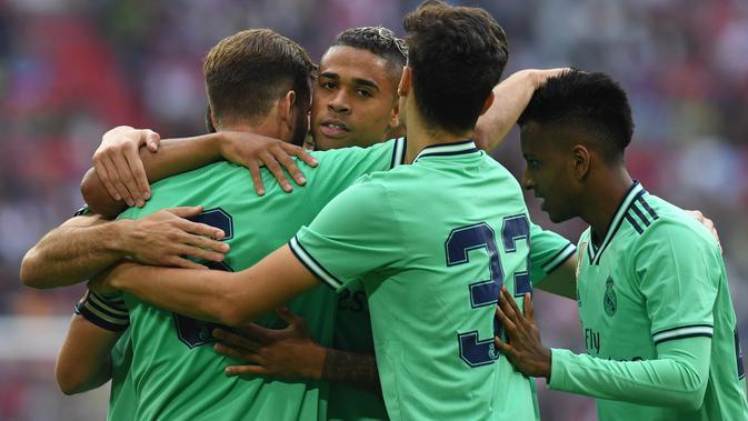 Real Madrid belum tampil meyakinkan di pramusim (AFP)