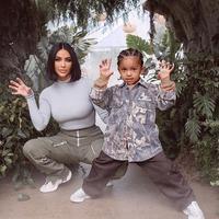 Kim Kardashian menggelar pesta ulang tahun meriah untuk Saint West. (Instagram/kimkardashian)