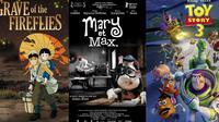 Apa saja enam film animasi yang bisa membuat para penonton, terutama pria menangis tersedu-sedu?
