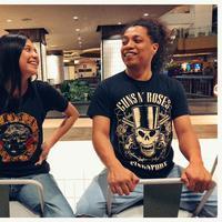 Indah Permatasari dan Arie Kriting (Sumber: Instagram/arie_kriting)