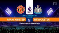 MAnchester United  vs newcastle (Liputan6.com/Niman)