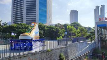 Top 3 News: Berdiri Kokoh Tugu Sepatu di Jantung Ibu Kota DKI Jakarta