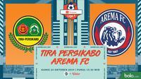 Shopee Liga 1 - Tira Persikabo Vs Arema FC (Bola.com/Adreanus Titus)