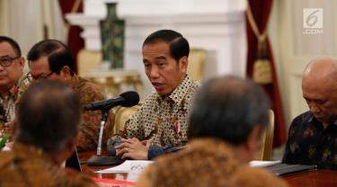 Presiden Jokowi Terima Pengurus Apindo di Istana Merdeka