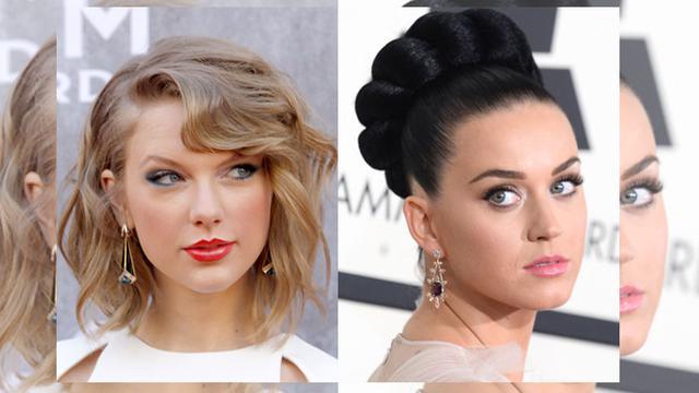 Taylor Swift dan Katy Perry