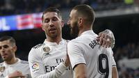 Real Madrid menang atas Deportivo Alaves. (AP Photo/Andrea Comas)