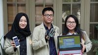 Sekelompok mahasiswa UGM mengembangkan perangkat sarung tangan untuk menerjemahkan bahasa isyarat