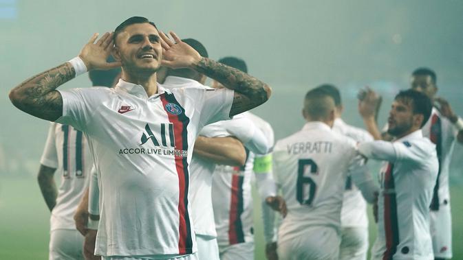 PSG tampil dominan di Grup A Liga Champions. (AFP/Kenzo Tribouillard)