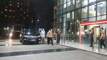 Tiba di KPK, Wakil ketua DPR Azis Syamsuddin Pilih Bungkam