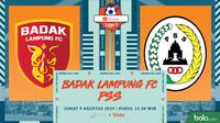 Shopee Liga 1 - Perseru Badak Lampung FC Vs PSS Sleman (Bola.com/Adreanus Titus)