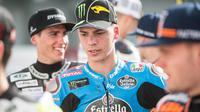 Pembalap Moto2, Joan Mir, jadi kandidat pendamping Marc Marquez di Repsol Honda pada MotoGP 2019. (MotoGP.com)