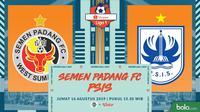 Shopee Liga 1 - Semen Padang FC Vs PSIS Semarang (Bola.com/Adreanus Titus)