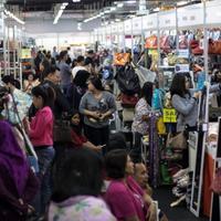 Irresistible Bazaar adalah bazaar preloved branded yang selalu ditunggu penggemar barang branded. (Liputan6.com/Pool/Mini Irres)