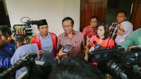 Pengurus DPP PSI bertemu mantan Ketua Mahkamah Konstitusi Mahfud MD (Istimewa)