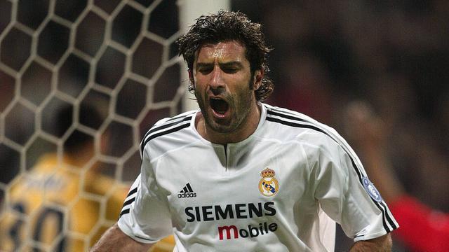 Luis Figo, Legenda Real Madrid Berlabel Penghianat Barcelona