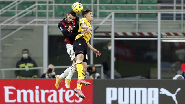 AC Milan Ditahan Imbang Udinese 1-1 di San Siro