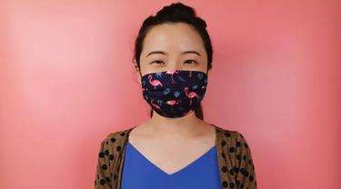 Kisah di Balik Video Tutorial Menjahit Masker Kain Sendiri