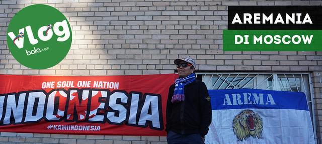 Berita video VLOG Bola.com kali ini perjalanan ke beberapa tempat di Moscow, Rusia, dan berbincang dengan Aremania yang datang untuk Piala Dunia 2018.