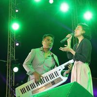 Melalui Prambanan Jazz Festival Indra Lesmana mengaku dirinya menjadi tertarik untuk membuat proyek kolaborasi ke depannya. (Bambang E.Ros/Bintang.com)
