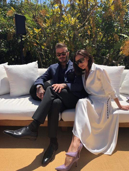 Rumah tangga David Beckham dan Victoria Beckham dikabarkan goncang dan akan segera berakhir. (instagram/victoriabeckham)