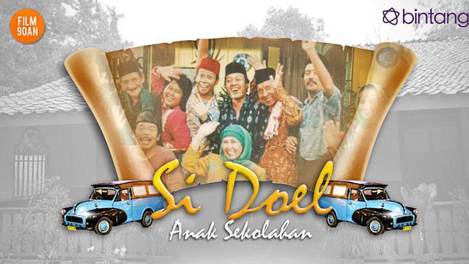 Film 90 An Si Doel Anak Sekolahan Pelopor Sinetron Betawi News