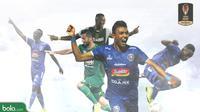5 Calon Pemain Terbaik Piala Presiden 2019 (Bola.com/Adreanus Titus)