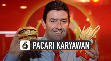 CEO McDonald's, Steve Easterbrook dicopot dari jabatan. Hal itu karena dirinya memacari salah satu karyawan McD.