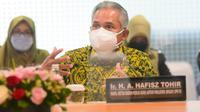 Anggota Komisi XI DPR RI Achmad Hafisz Tohir. (Foto: Jaka/Man)