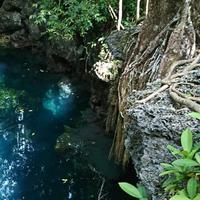 Goa Halo Tabung, salah satu objek wisata di Maratua, Kalimantan Timur. (Liputan6.com/Dinny Mutiah)