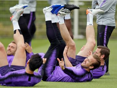 Persiapan Harry Kane Cs Jelang Laga Tottenham vs Liverpool