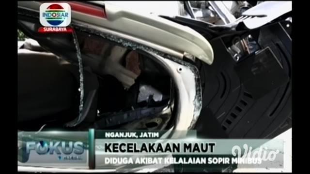 Kecelakaan maut ini terjadi di jalur lintas propinsi, Surabaya menuju Jawa Tengah, tepatnya di Desa Selorejo, Kecamatan Bagor Nganjuk.