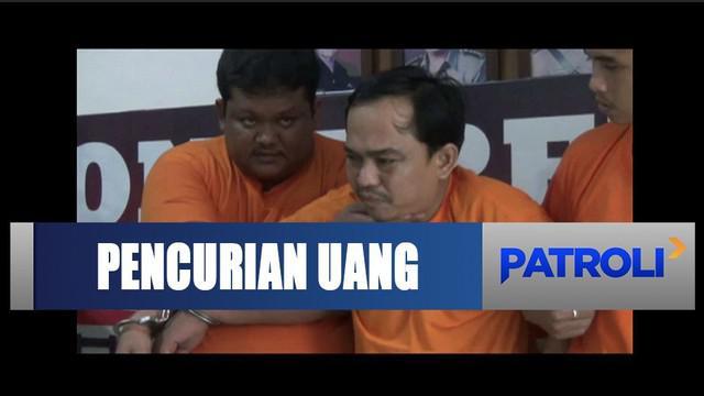 Polrestabes Medan tangkap komplotan pencuri uang milik Pemprov Sumatra Utara.
