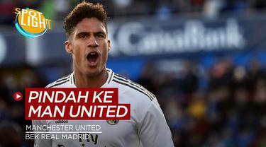 Berita video spotlight tentang empat pemain yang berpotensi pindah ke Manchester United musim depan, salah satunya ada bek Real Madrid.