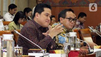 Dicecar DPR Soal BUMN Polesan yang Tiba-Tiba Untung, Erick Thohir Jawab Begini