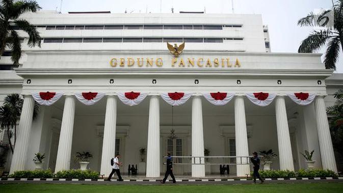 Gedung Pancasila Kemlu RI (/Gempur M Surya)
