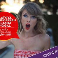 Taylor Swift tidak mau karya-karyanya dinikmati secara gratis. (Desain: Nurman Abdul Hakim/Bintang.com)