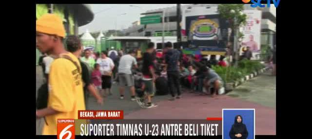 Para suporter yang datang bukan hanya dari wilayah Jawa Barat saja. Namun juga dari sejumlah kota di Jawa Tengah dan Jawa Timur.