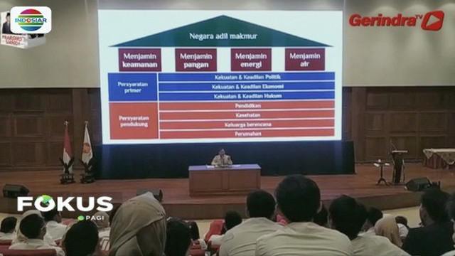 Ketimpangan sosial di Indonesia meningkat, Prabowo Subianto: Kita harus ganti arah yang lebih   baik.