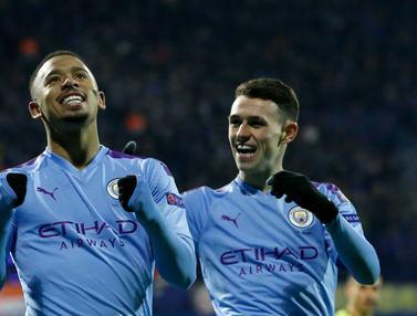 Lumat Dinamo Zagreb, Manchester City Juara Grup C Liga Champions