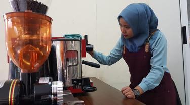 Pelatihan kopi saring