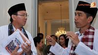 Pasangan Pemimpin DKI Jakarta Jokowi dan Ahok