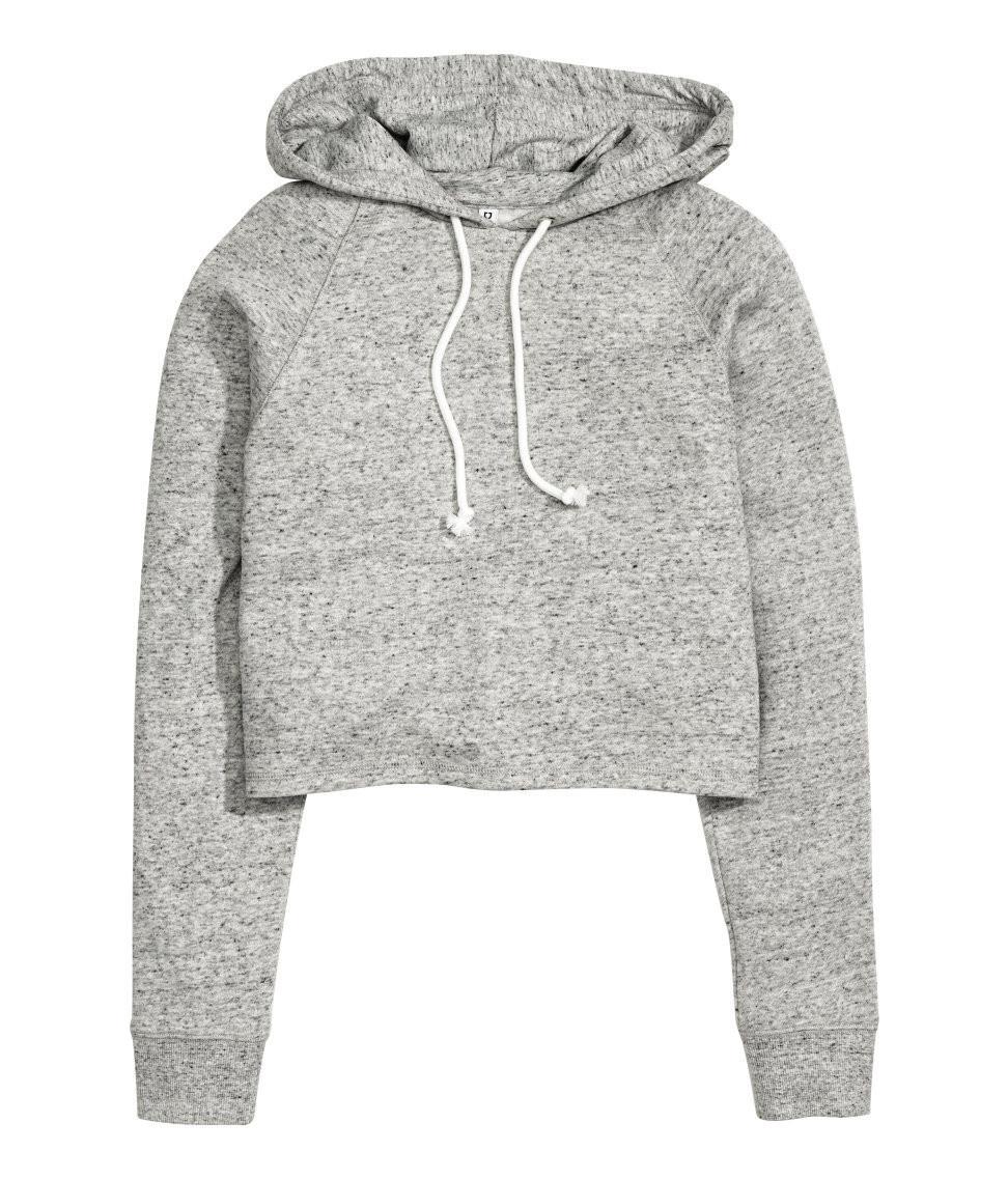 Sweatshirts warna abu-abu. (Image: hmcom)