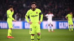 1. Lionel Messi (Barcelona) - 8 gol dan 3 assist (AFP/Franck Fife)