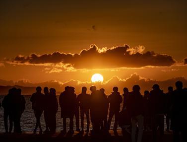 Berburu Matahari Terbit Awal Tahun 2021
