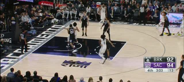 Berita video game recap NBA 2017-2018 antara Sacramento Kings melawan Brooklyn Nets dengan skor 116-111.