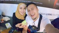 Arie Untung dan Fenita Arie [foto: instagram/ariekuntung]