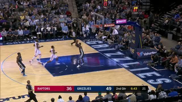 Berita video game recap NBA 2017-2018 antara Toronto Raptors melawan Memphis Grizzles dengan skor 116-107.