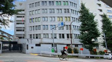 Gedung Kedutaan Besar Republik Indonesia Tokyo. Foto dok KBRI Tokyo