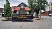Museum Radya Pustaka yang terletak di kawasan Taman Sriwedari.(Liputan6.com/Fajar Abrori)